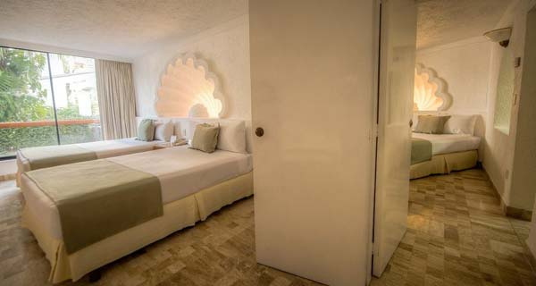 Accommodations - Park Royal Beach Acapulco All Inclusive Family Beach Resort